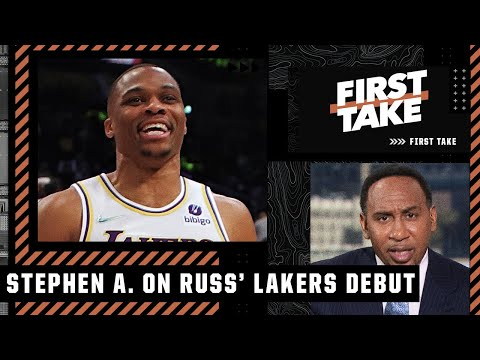 'NO WAY IN HELL that Russell Westbrook is coming off the bench this year' - Stephen A.   First Take