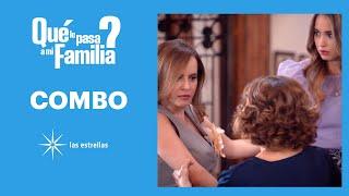 ¿Qué le pasa a mi familia?: ¡Luz defiende a Cony de Violeta! | C-32 | Las Estrellas