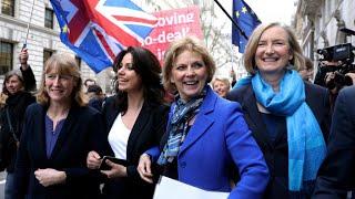 Las tres conservadoras que renunciaron a su partido por el Brexit
