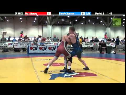 Greco GR 59 KG - Max Nowry vs. Randy Duncan