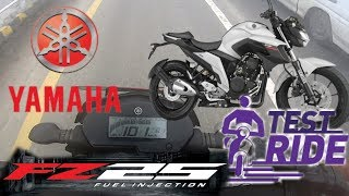 Finally 2017 Yamaha FZ 25 STREET FIGHTER is here ( Nepal) - showroom first ride and impression