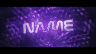 PURPLE INTRO TEMPLATE! ~