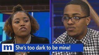 Look at that baby…She's too dark to be mine! | The Maury Show