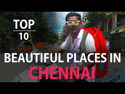 TOP 10 beautiful places in chennai (unknown) | Ft. Ajay | Countdown | Madras Central