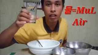 Makan sambil belajar kosa kata b.korea(amatir vlog)