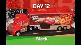 Disney Cars 3 Mack Hauler - Day 12 - 12 Days of Christmas (Lightning McQueen, Piston Cup)