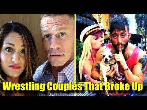 10 Wrestling Couples That BROKE UP! - John Cena, Nikki Bella & More!