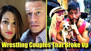 10 Wrestling Couples That BROKE UP! - John Cena, Nikki Bella & More!