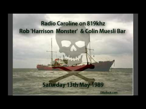 Radio Caroline 819 ~ 13/05/1989 ~ Offshore Pirate Radio [R016]