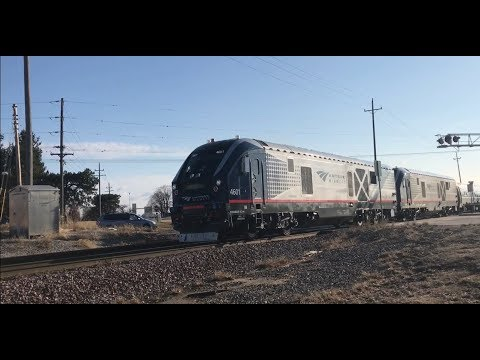 Amtrak Midwest: Amtrak 382 Quincy, IL (all out) 3/11/2018
