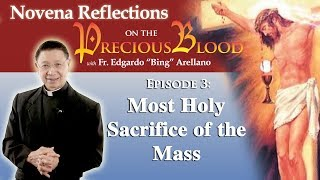 Novena Reflection on the Precious Blood  Day 3;  Most Holy Sacrifice of the Mass