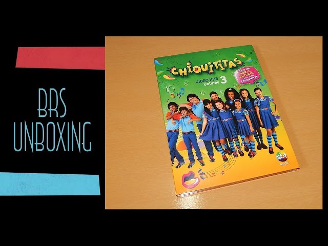 Chiquititas 2013 - DVD Video Hits Vol.3 (Unboxing) Travel Video