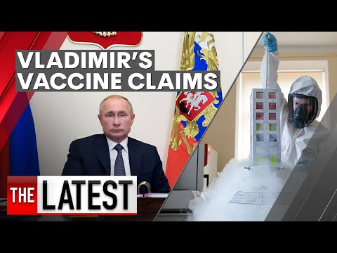 Coronavirus: Vladimir Putin claims Russia has a COVID-19 vaccine ready for use | 7NEWS