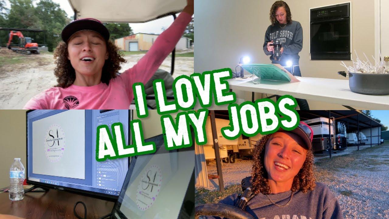 I LOVE ALL MY JOBS