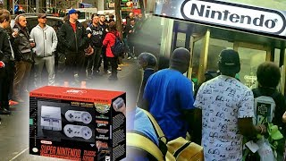Video *COPS CALLED* How Scalpers Almost RUINED the SNES Classic Launch at Nintendo NY download MP3, 3GP, MP4, WEBM, AVI, FLV November 2017