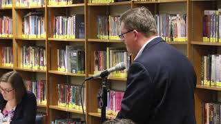 District 96 Board Of Education Meeting 08 15 18