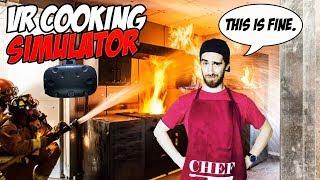 VR COOKING SIMULATOR! | ChefU - HTC Vive Gameplay