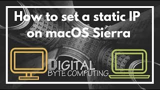 How to set a static IP on Mac …