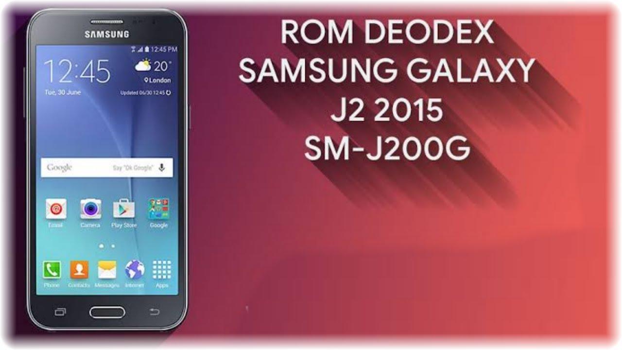FULL ROM DEODEX FOR GALAXY J2 (SM-J200G)   New DEODEX
