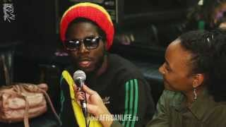 Videointerview, Chronixx, 02.04.2014, Flex, Vienna