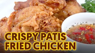 Crispy Patis Fried Chicken