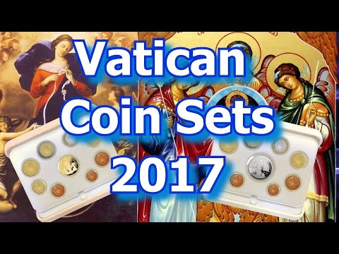 Vatican Issues 2017 Proof Coin Sets