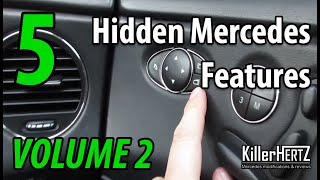 5 Hidden Mercedes functions, tricks & features - Vol 2
