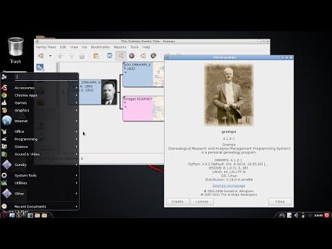 GRAMPS Video 0: Installing on Debian-based Linux