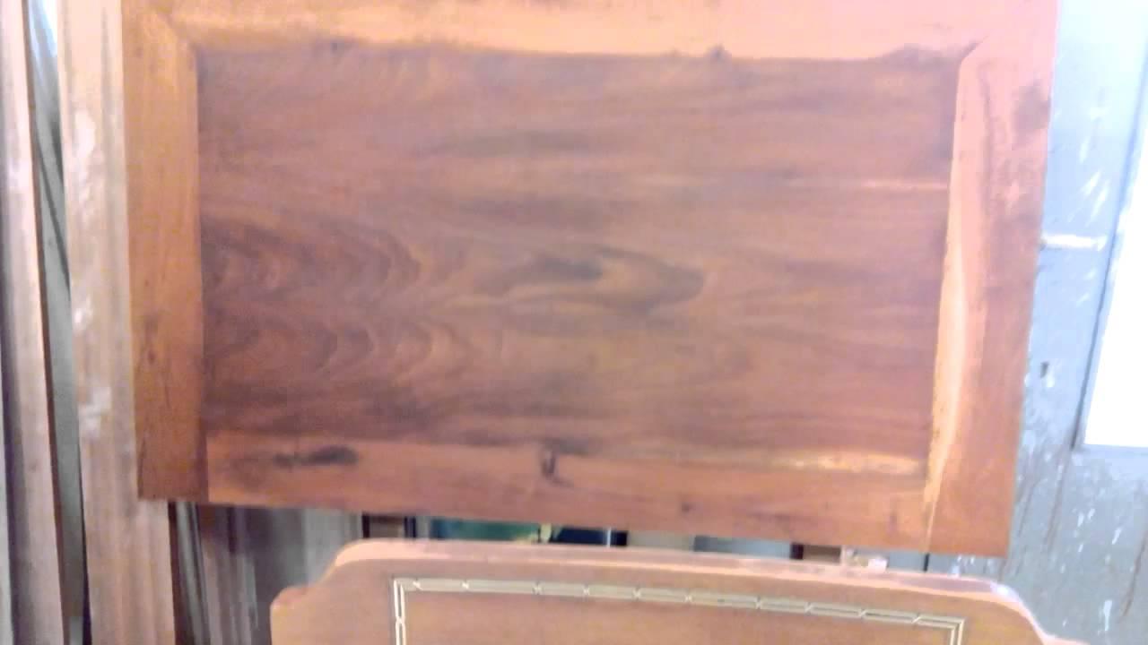 Como restaurar muebles de madera de caoba youtube for Restaurar muebles lacados