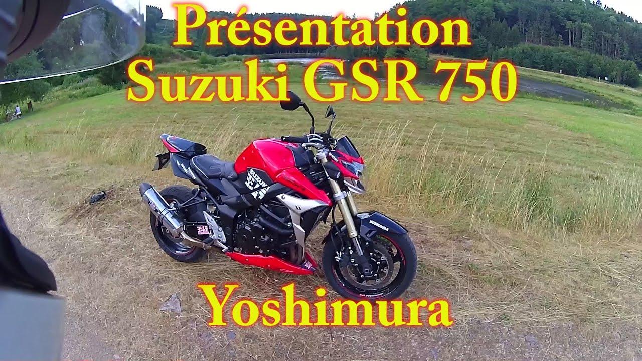 yoshi vlogy 6 pr sentation suzuki 750 gsr yoshimura youtube. Black Bedroom Furniture Sets. Home Design Ideas