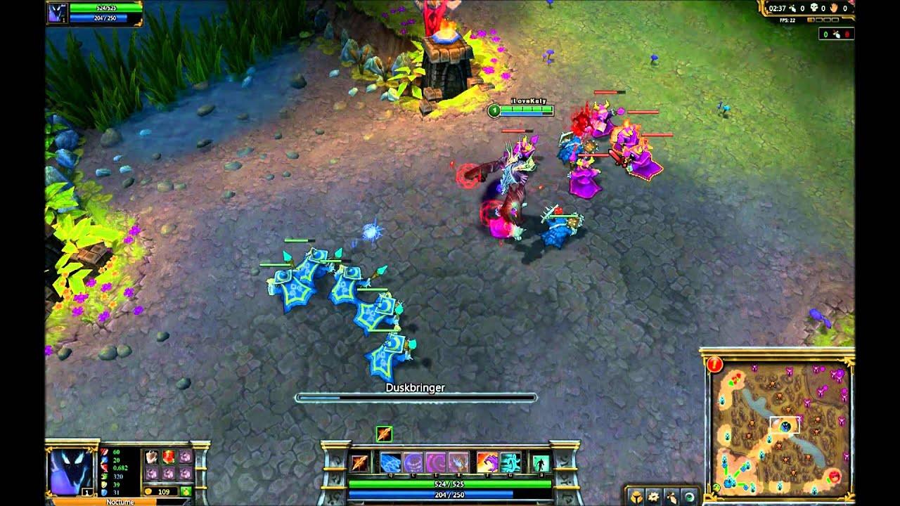 League of Legends: Skin Spotlight - Void Nocturne - YouTube