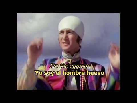 I am the Walrus  - The Beatles (LYRICS/LETRA) [Original] [Video]