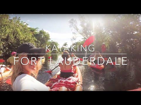 Iguanas and kayaking in Fort Lauderdale by Siveltimellä I ParisRio Travel Channel