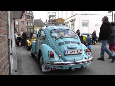 1971 vw beetle blue @ freddy files ninove 2014