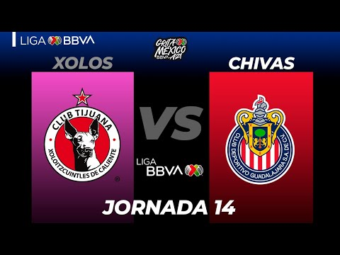 Club Tijuana Guadalajara Chivas Goals And Highlights