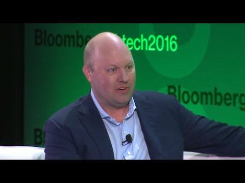 Marc Andreessen at the Bloomberg Technology Conference