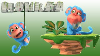 Short Animation Movie - Monkaa Blender Cartoon Film