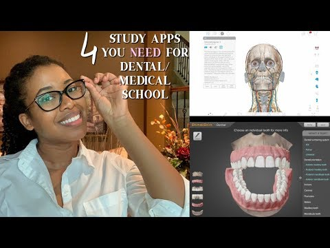 4 Top Study Apps That You NEED For DENTAL/MEDICAL School