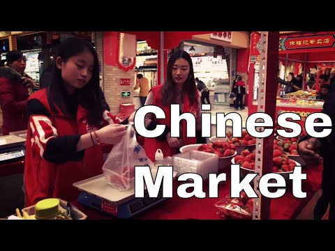 You Should Visit This Market in China | Changchun | Jilin
