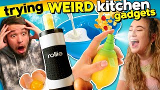 Are We Doing It Wrong?! Trying Crazy Kitchen Gadgets
