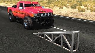 High Speed Flip Ramp Crashes #17 - BeamNG Drive Crash Testing