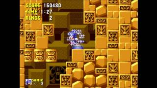 Sonic The Hedgehog - Gameplay Part 4 Labyrinth Zone