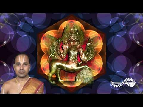 Sri Sharabha Mala Mantrani - Sri Sharabha Sahasranamavali - Maalola Kannannamavali
