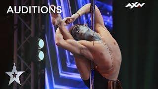 Pole Dancer Louis Sue AMAZED David Foster   AXN Asia's Got Talent 2019