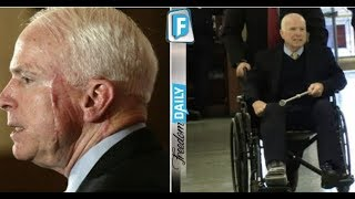 BUSTED! JOHN MCCAIN WAS JUST CAUGHT IN MAJOR LIE ABOUT HIS INJURIES THESE PICTURES PROVED HE LIED!