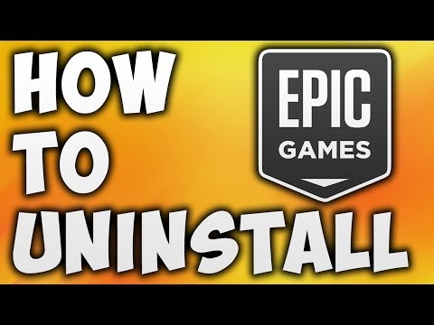 How To Uninstall Epic Games Launcher | Fix Epic Games Launcher Is Currently Running Error