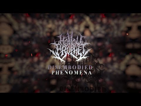 HOLLOW PROPHET - DISEMBODIED PHENOMENA [OFFICIAL LYRIC VIDEO] (2019) SW EXCLUSIVE