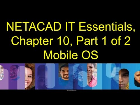 NETACAD IT Essentials, Chapter 10, Part 1 of 2, Mobile, OS
