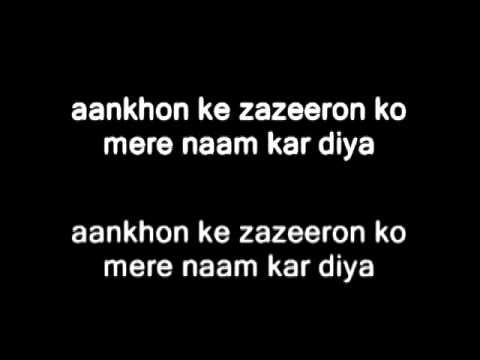 Guncha koi - Mohit Chauhan (With Lyrics)