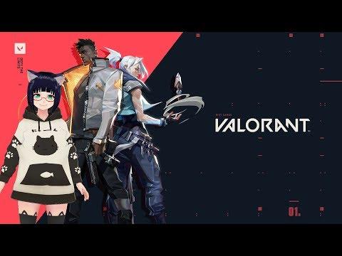 【VALORANT】初プレイだしお気に入りを探していこう 【VTuber】
